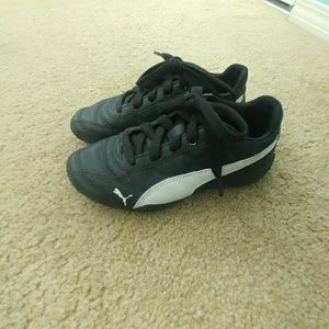Puma Kid Shoes Black sz 13